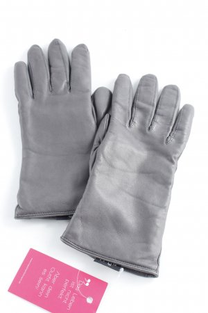 Roeckl Leather Gloves grey casual look