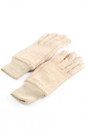 Roeckl Leather Gloves nude casual look