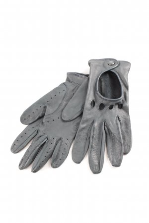 Roeckl Leather Gloves petrol elegant