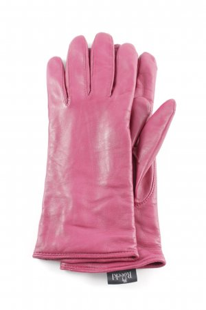 Roeckl Leather Gloves purple casual look