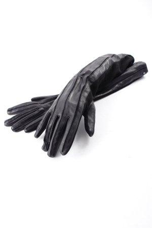 Roeckl Leren handschoenen zwart Britse uitstraling