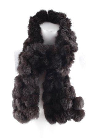 Roeckl Sciarpone marrone-nero elegante