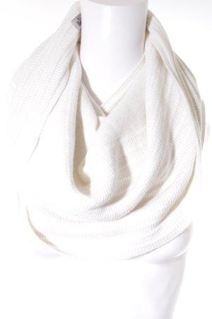 Roeckl Bufanda tubo blanco puro look casual