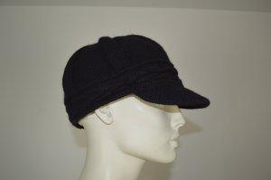 Roeckl schwarze Wollmütze / Kappe Gr. 52