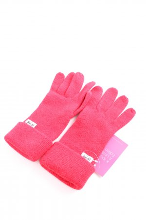 Roeckl Knitted Gloves pink casual look