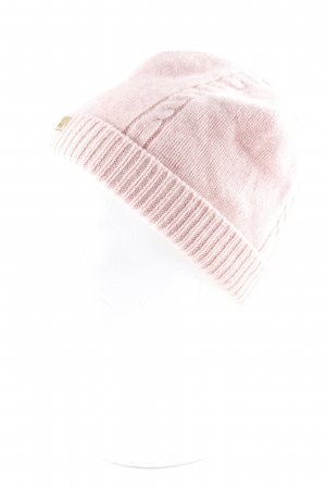 Roeckl Knitted Hat pink casual look