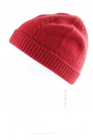 Roeckl Knitted Hat red casual look