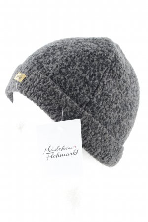 Roeckl Knitted Hat black-grey flecked casual look