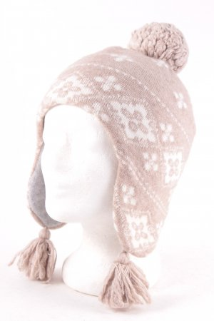 Roeckl Knitted Hat white-beige casual look
