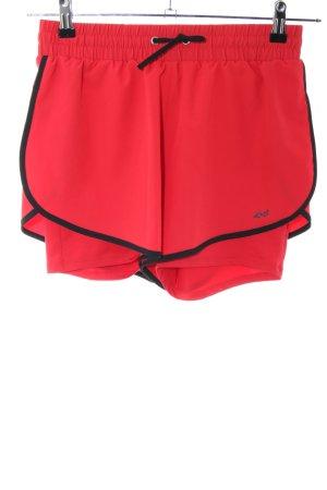 Röhnisch Sporthose rot-schwarz Casual-Look