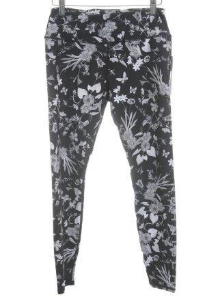 Röhnisch Pantalon de sport motif de fleur style athlétique
