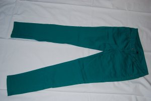 Ann Christine Drainpipe Trousers green cotton