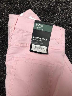 Botto Hoge taille broek roze