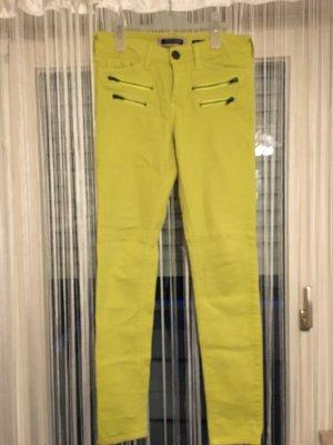 Röhren Jeans in neon