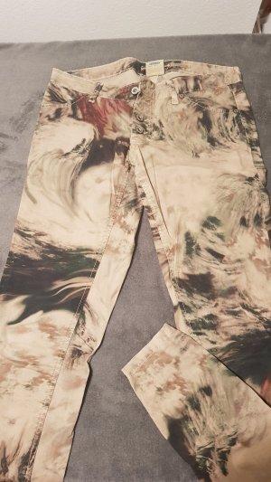 Please Drainpipe Trousers multicolored