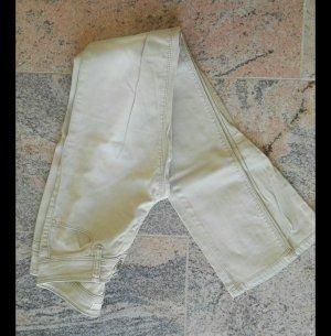 Pantalon cigarette beige clair