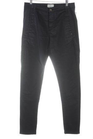Röhrenhose dunkelblau Jeans-Optik