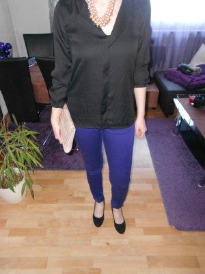 Röhrenhose H&M knallblau