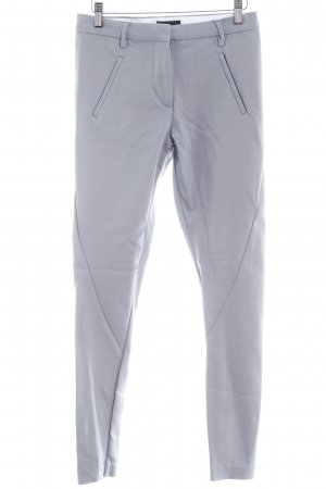 Drainpipe Trousers light grey business style