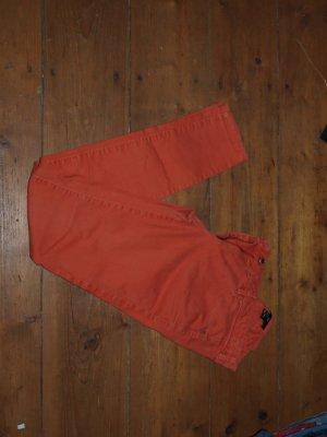 Röhrenhose in orange von H&M