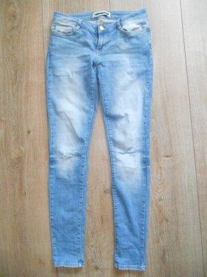 Röhrenhose Jeans Hose Noisy May Gr. 29