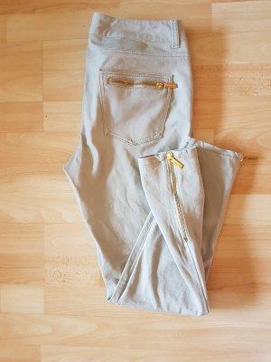 Michael Kors Pantalon cigarette brun sable