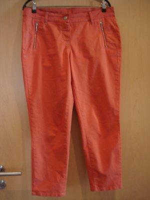 Röhrenhose orange von Alba Moda