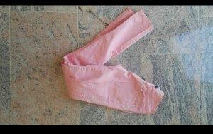 Röhrenhose rosa
