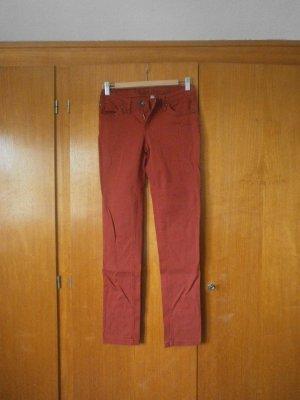 Röhrenhose rot von Eight2Nine Baumwolle