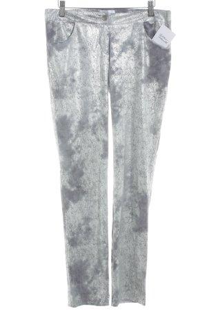 Drainpipe Trousers silver-colored-light grey elegant