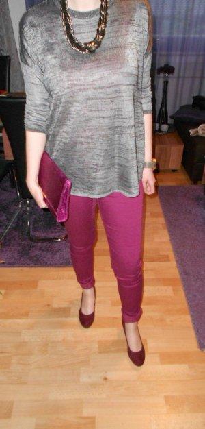 Röhrenhose Vero Moda Wonder Jeggins Gr. 29/34 violett bordeaux