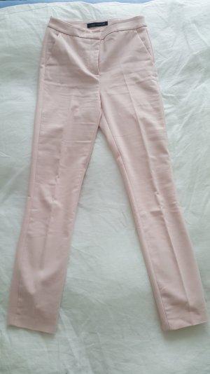Zara Pantalón de tubo rosa