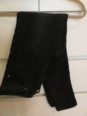 H&M Jeans cigarette noir-gris