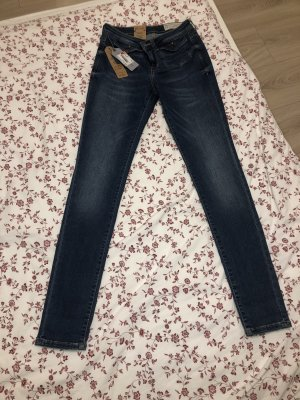 Esprit Tube Jeans dark blue-blue
