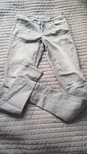 Only Drainpipe Trousers light grey-grey