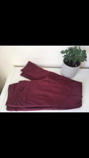 C&A Tube jeans bordeaux