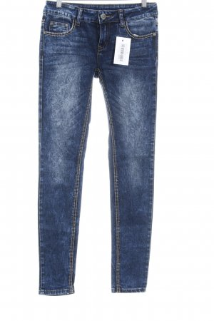 Röhrenjeans blau Jeans-Optik