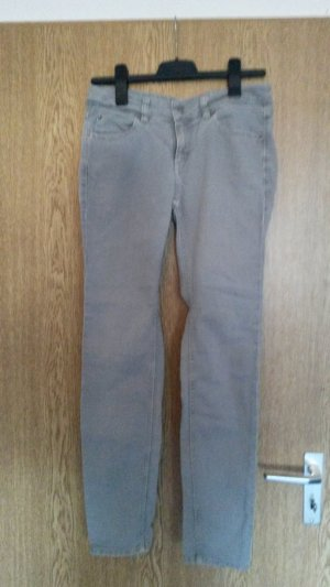 Turnover Tube Jeans light grey