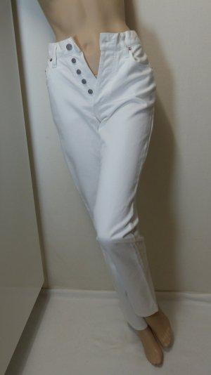 His Tube jeans wit Katoen