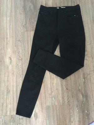 Röhrenjeans Jeans Gap Schwarz W 29 L 32 neu M 38