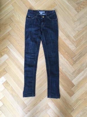 Röhrenjeans Jeans von ZARA dunkelblau Gr 34