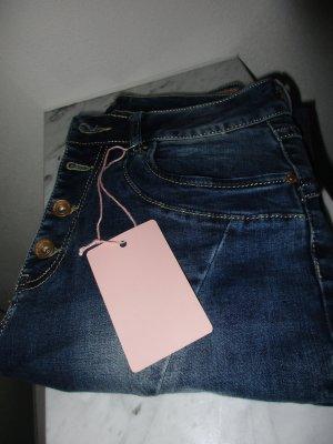 Röhrenjeans Lexxury Skinny Jeans schöne Farbe