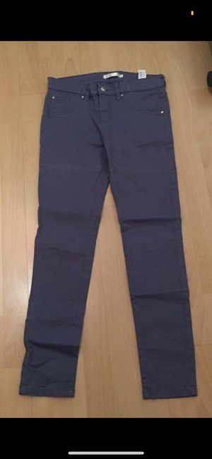 Made in Italy Jeans a sigaretta grigio ardesia