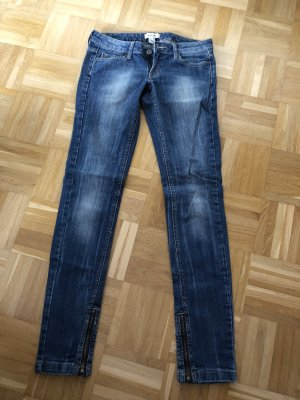 Mango Low Rise jeans blauw
