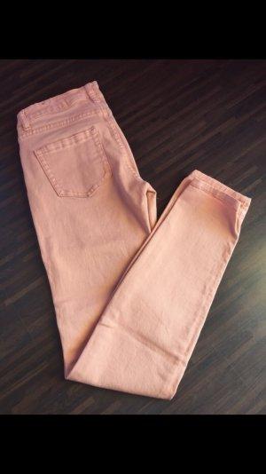 Röhrenjeans / Skiny Jeans Nude/rosa