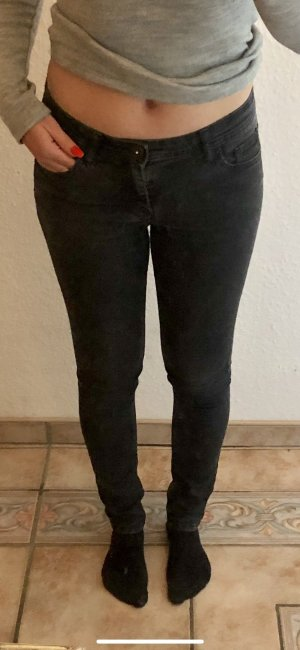 Jeans cigarette noir