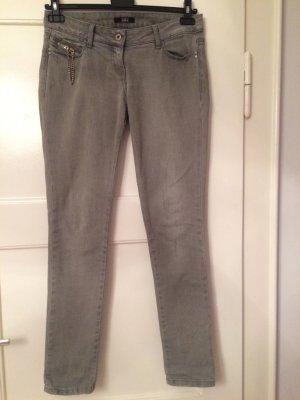 Patricia Pepe Tube Jeans light grey