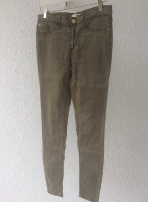 River Island Pantalon cigarette multicolore