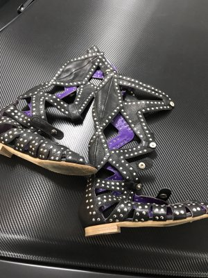 Anna Sui Roman Sandals multicolored