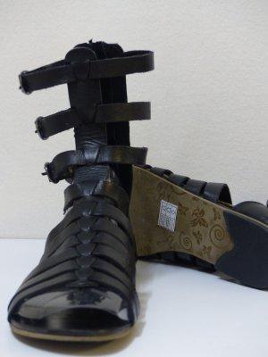 Akira Spartiate noir cuir